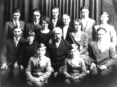 Will Rooney family, 1925